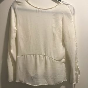 Silk Long Sleeve with Open Back